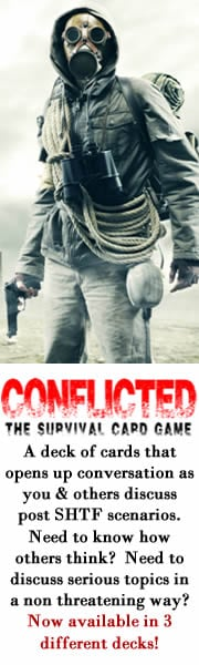 Conflicted Survival Card Game