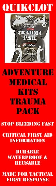 Quikclot Trauma Kit